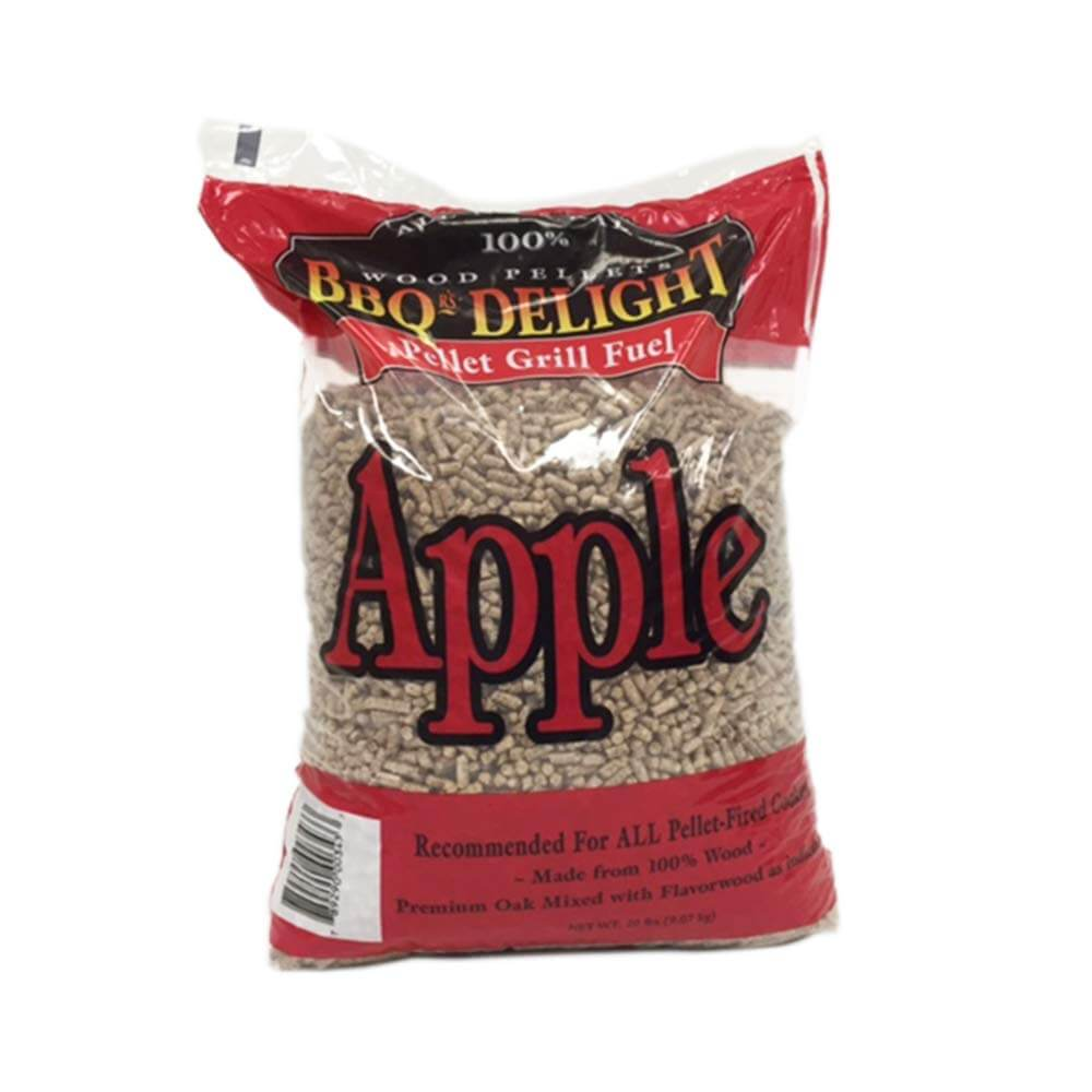 Apple Flavor BBQR's Delight Smoking BBQ Pellets