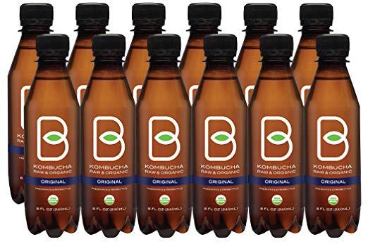 B-tea Raw Organic Kombucha