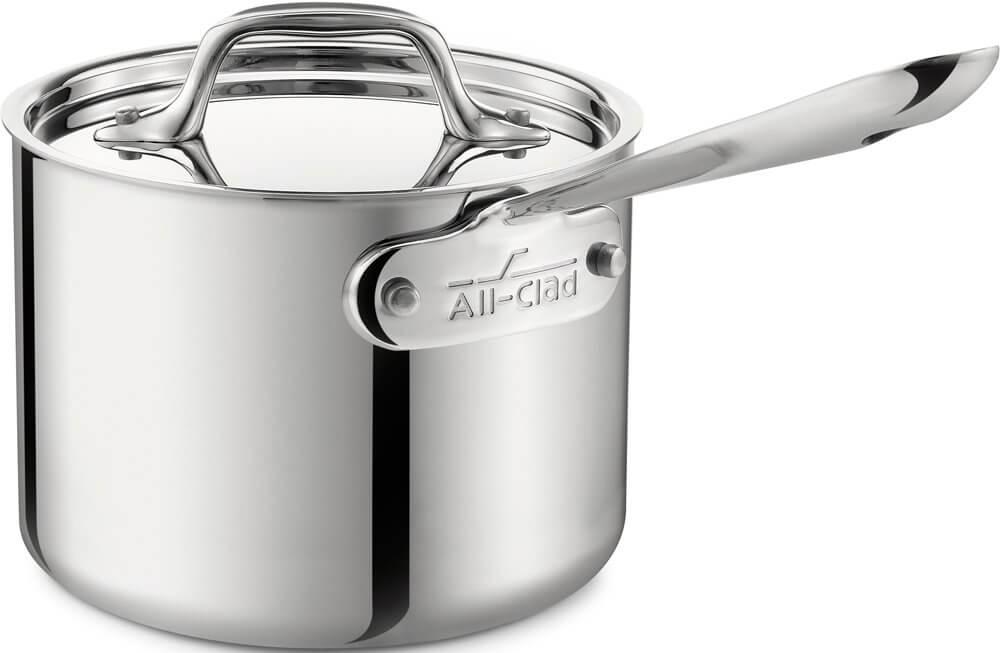 All-Clad 4201.5 Tri-Ply Saucepan- 1.5 quart