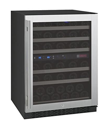Allavino FlexCount VSWR56-2SSRN - 56 Bottle Dual Zone Wine Refrigerator
