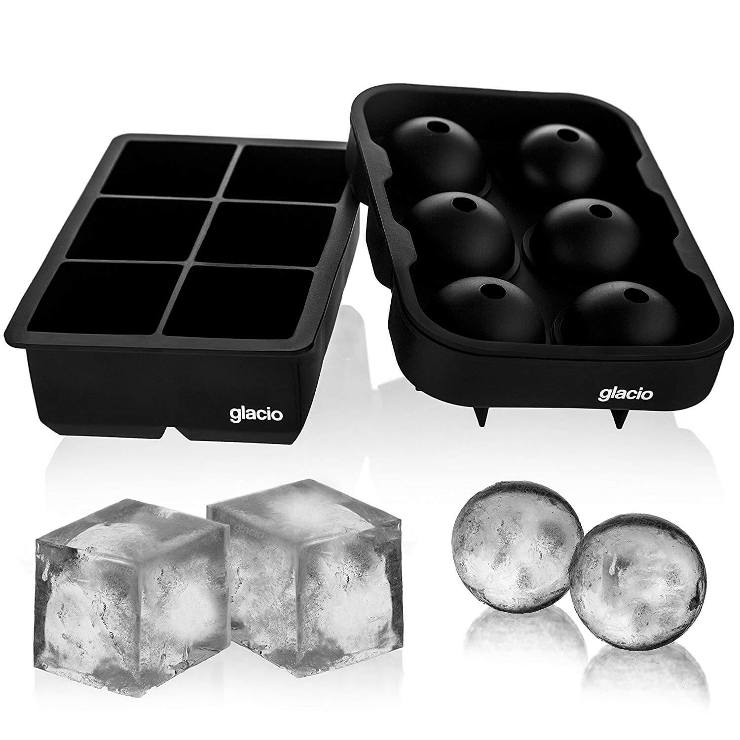 Glacio Ice Cube and Sphere Trays