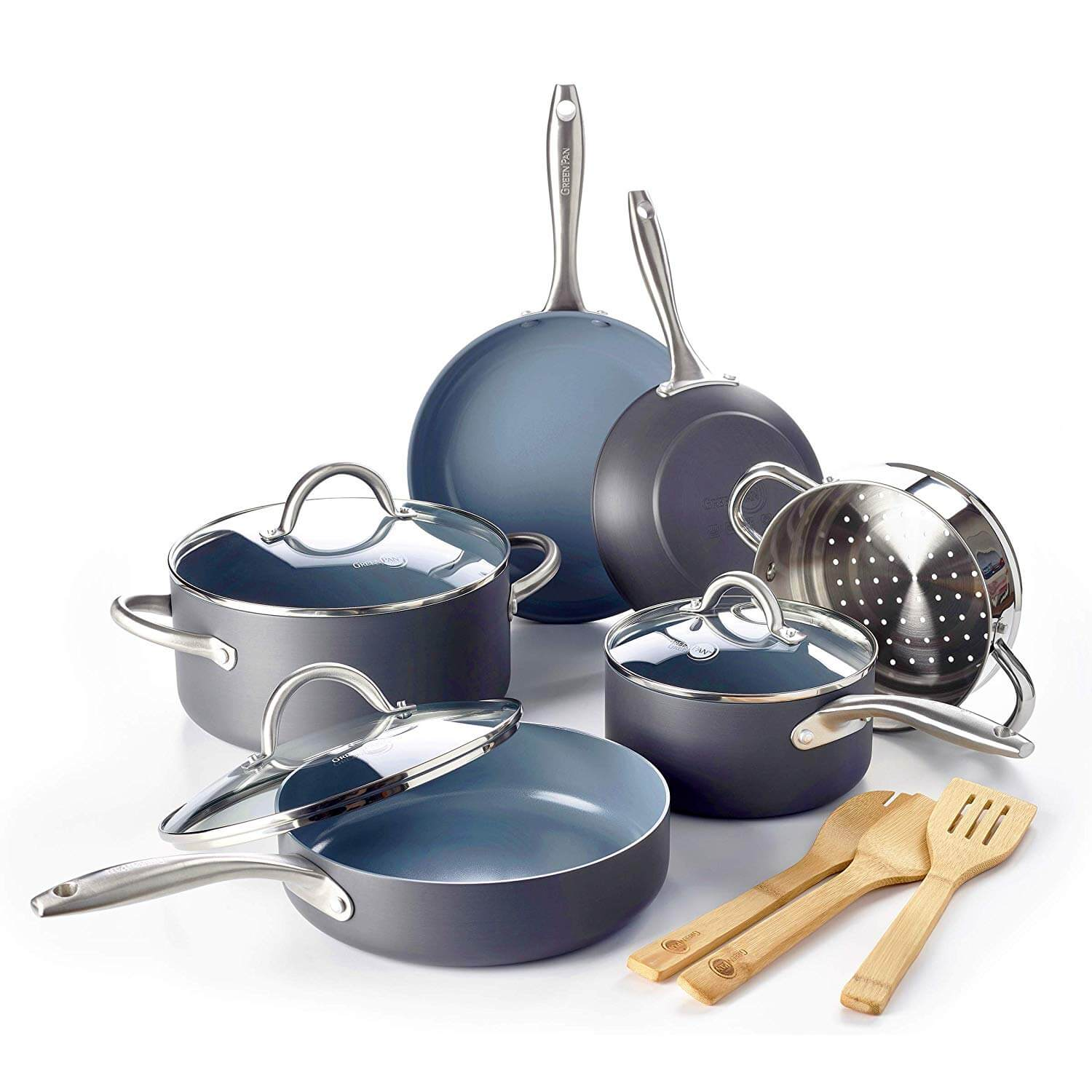 GreenPan Lima Ceramic Cookware Set