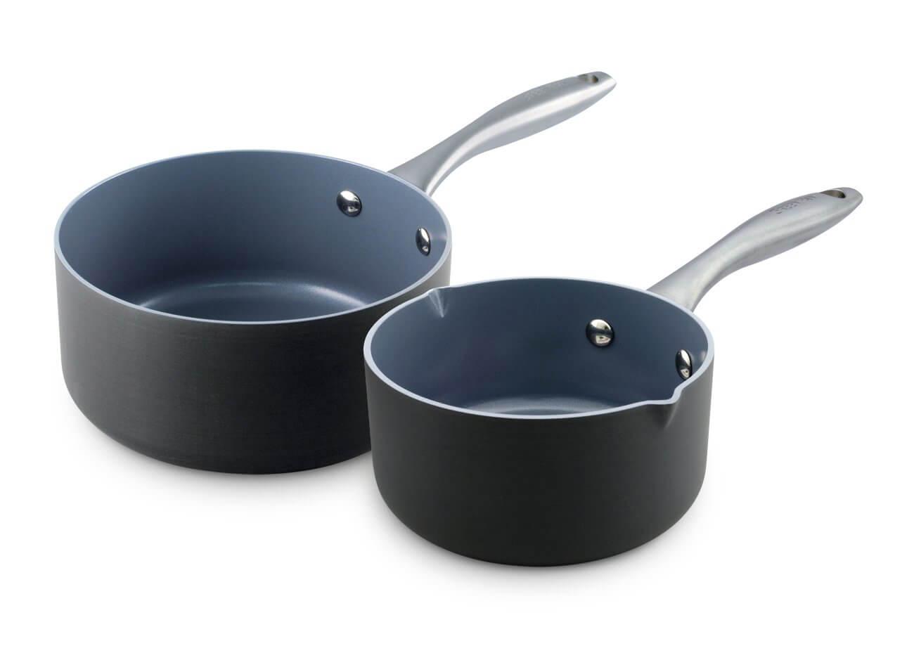 GreenPan Lima saucepan set