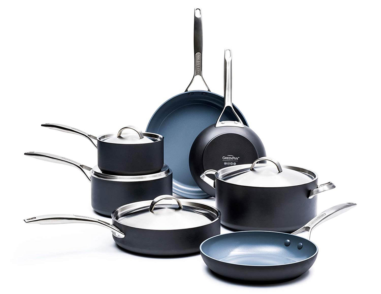 GreenPan Paris Ceramic Cookware Set
