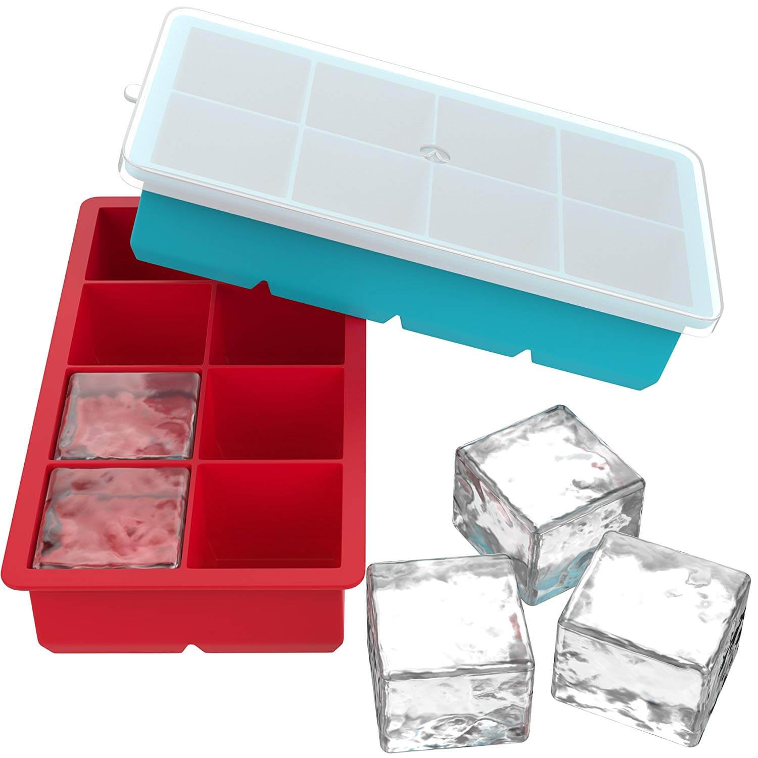Vremi Large Ice Cube Trays