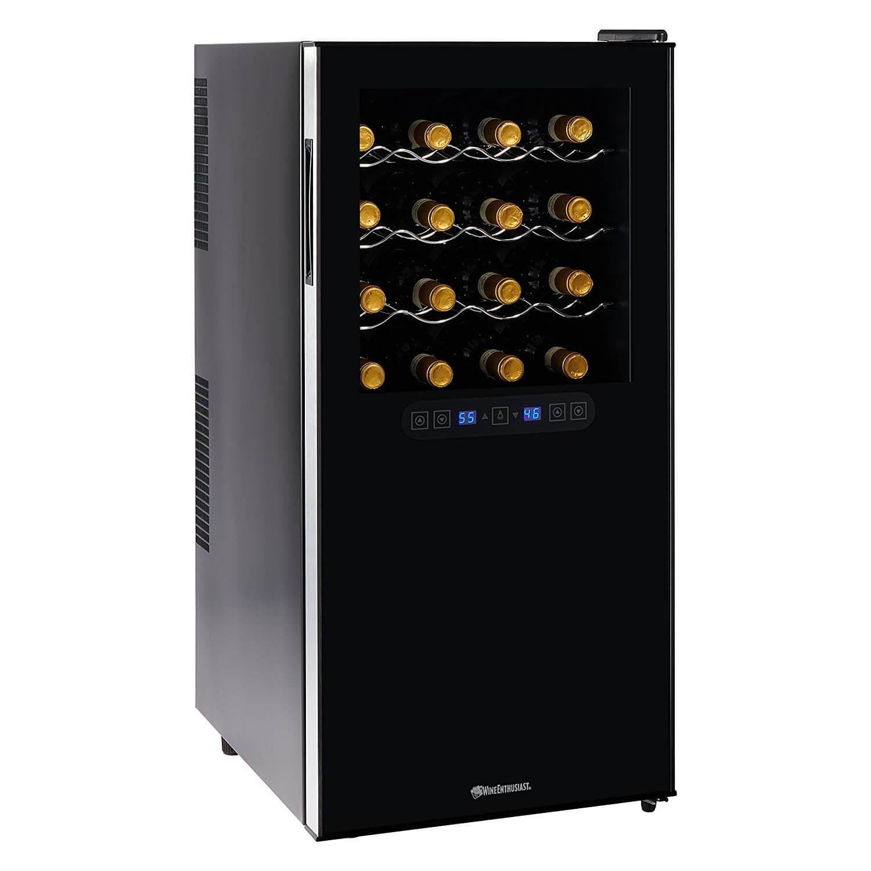 Wine Enthusiast 32 Bottle Dual Zone Wine Cooler