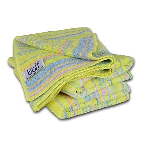 Buff Home Three Pack Microfiber Kitchen Towels