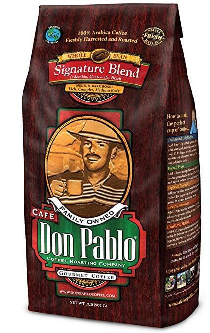 Cafe Don Pablo Signature Blend Whole Bean