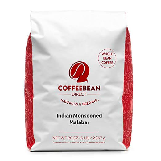 Coffee Bean Direct India Monsooned Malabar Whole Bean