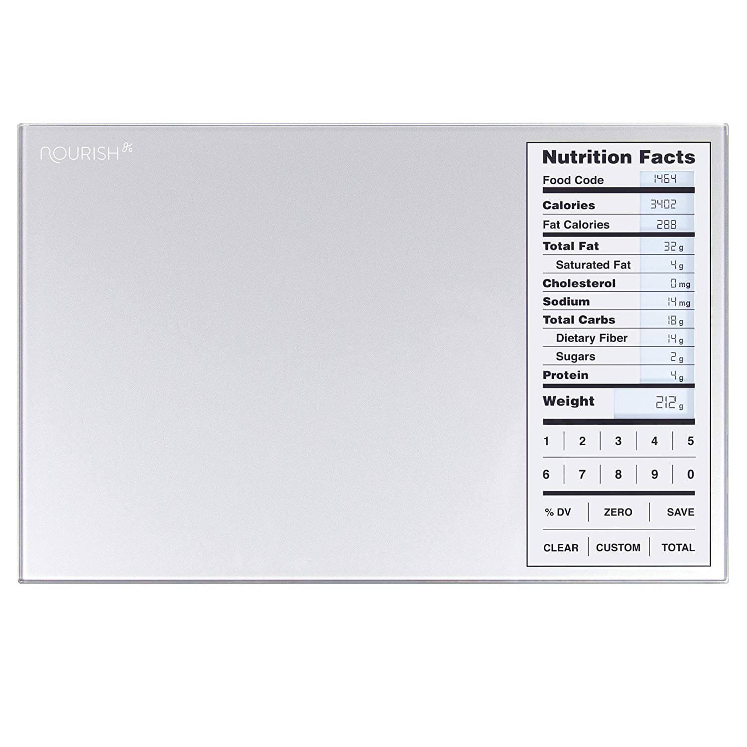 Greater Goods Nourish Digital Kitchen Scale