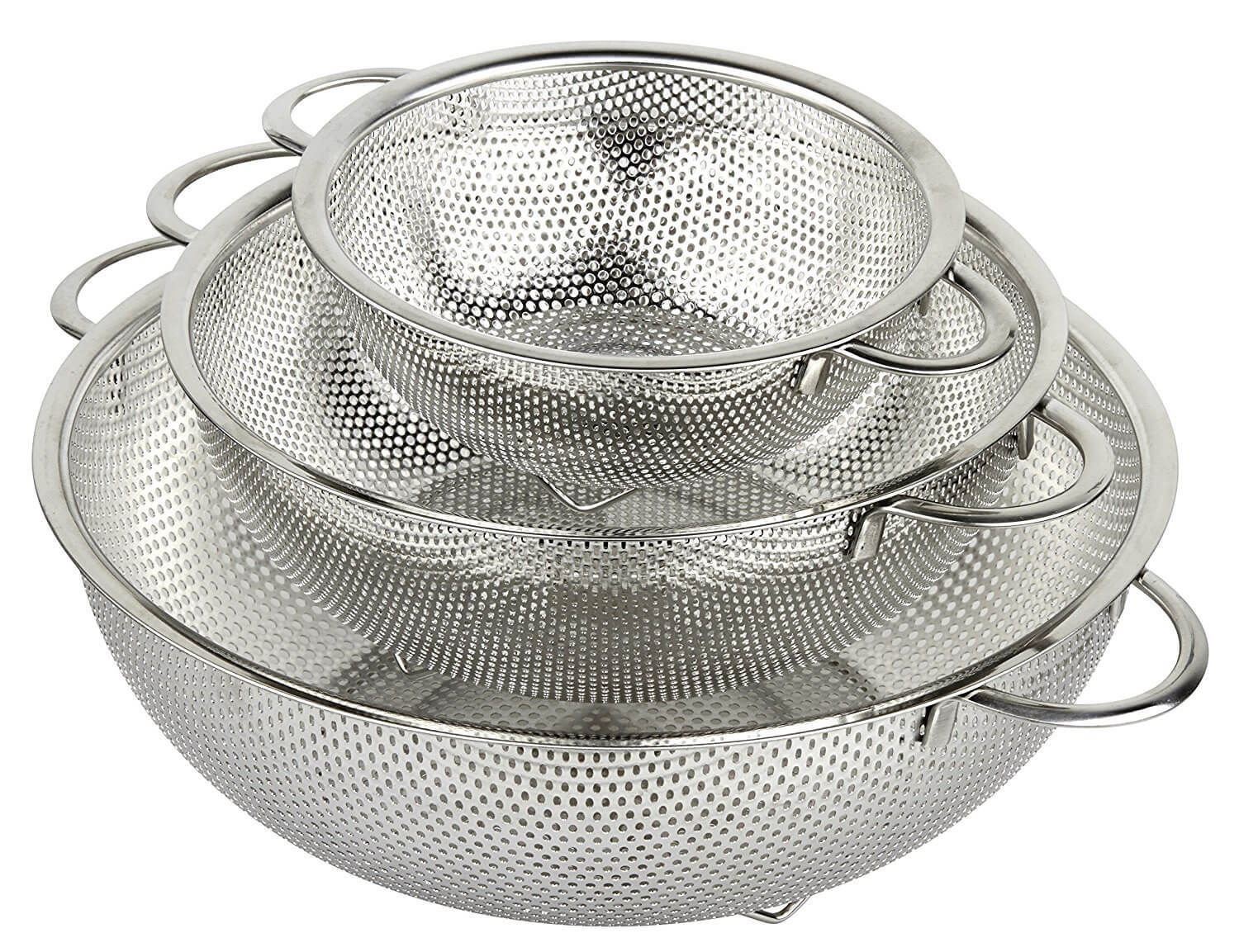 HOLM Stainless Steel Perforated Strainer