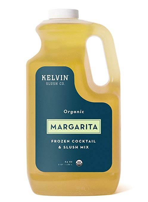 Kelvin Slush Co. Organic Margarita Frozen Cocktail and Slush Mix
