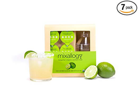 Mixallogy Margarita Mix and Mini Shaker Set