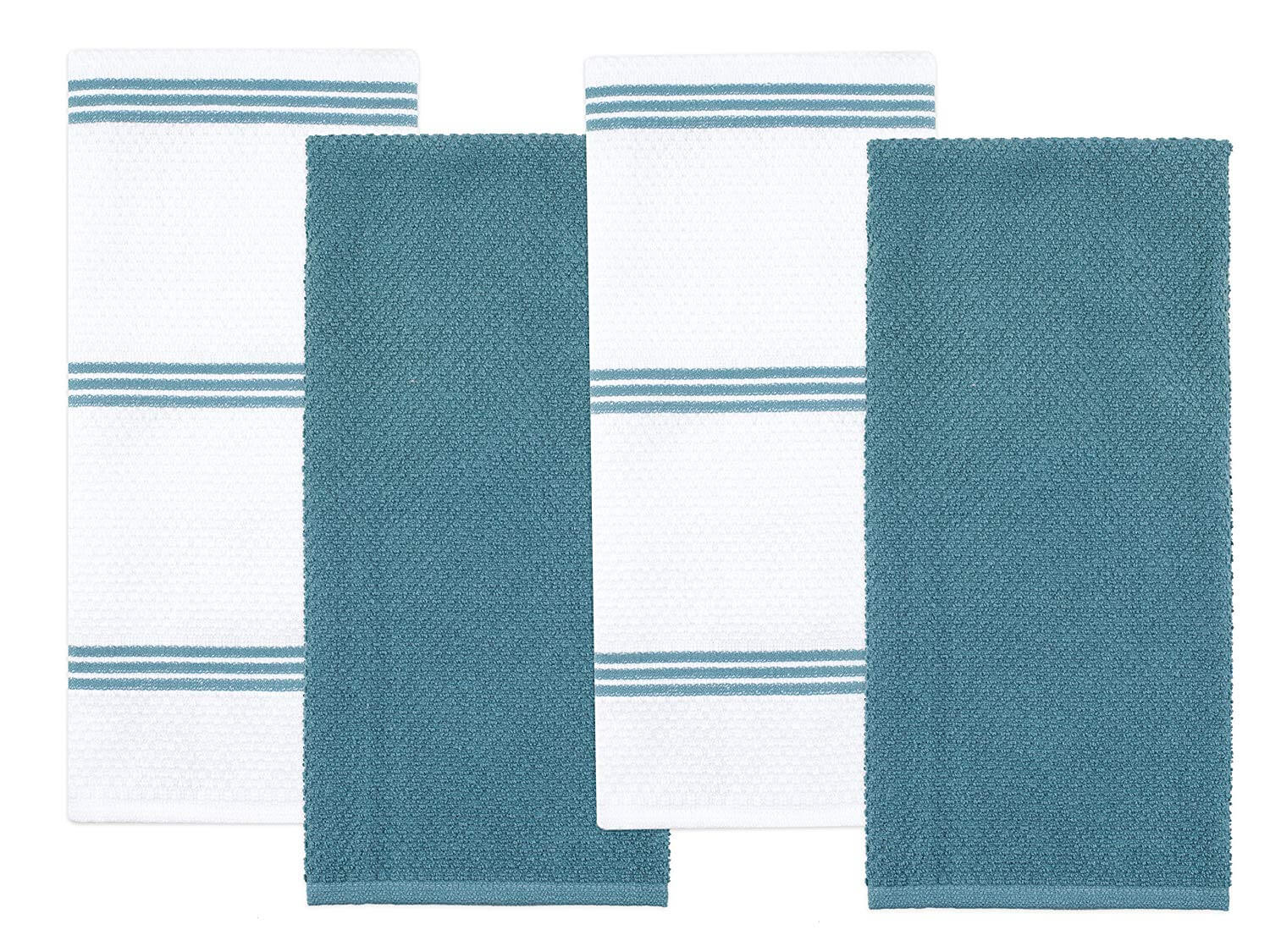 Sticky Toffee Four Pack Terry Kitchen Towels