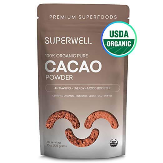 Superwell Organic Cacao Powder