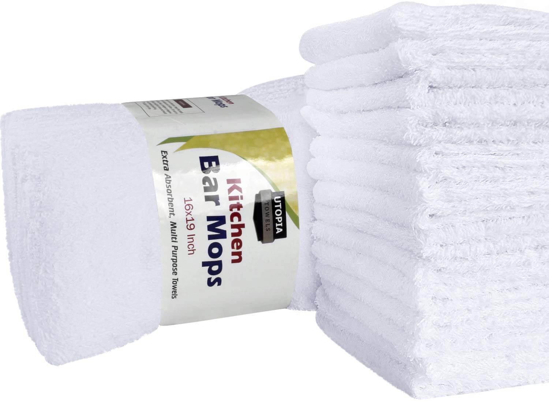 Utopia Towels 12 Pack Bar Mop Towels