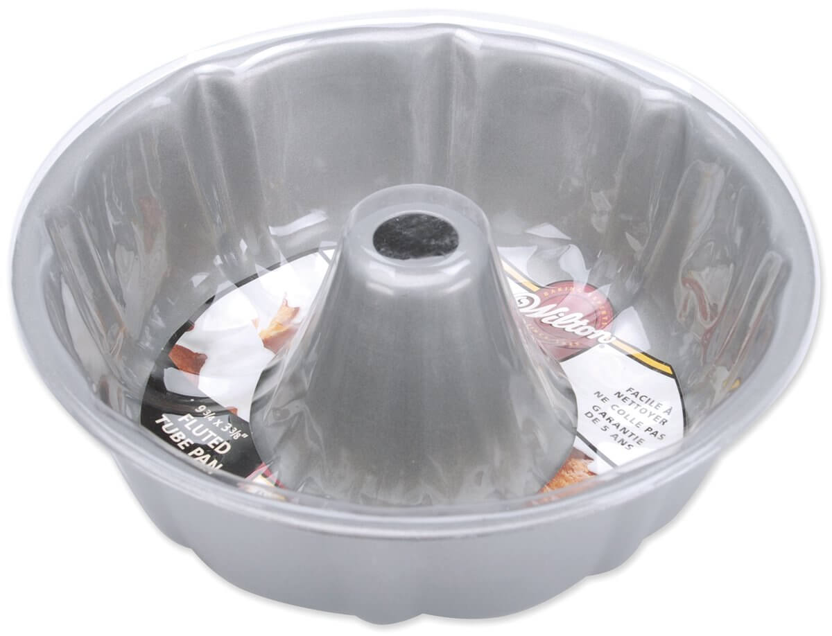 Wilton Recipe Right Non-Stick Fluted Tube Pan
