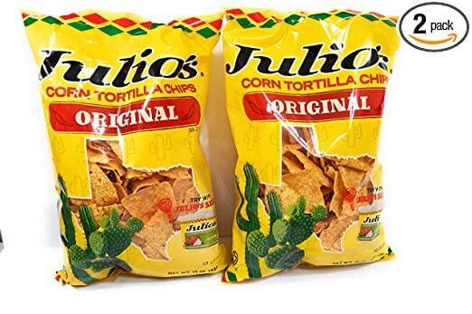 Julio's Seasoned Corn Tortilla Chips