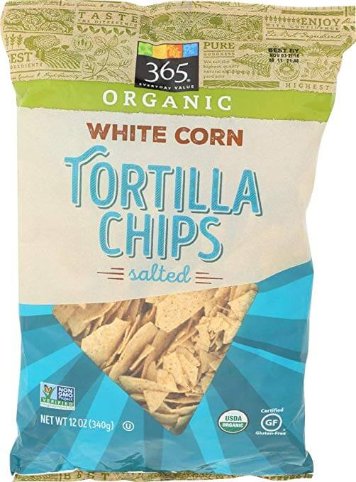 365 Everyday Value Organic White Corn Tortilla Chips