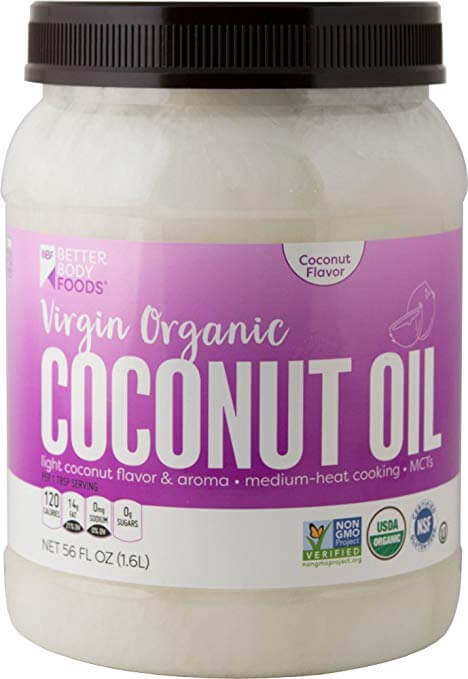 Better Body Foods Organic Virgin Coconut Oil