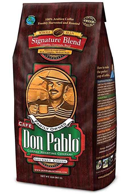 Cafe Don Pablo Gourmet Coffee Signature Blend