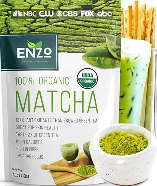 Enzo's Private Selection Matcha Green Tea Powder