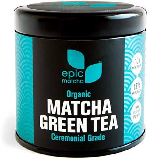 Epic Matcha Organic Matcha Green Tea Powder