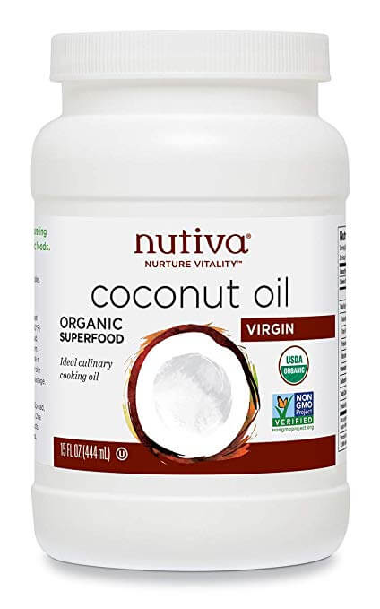 Nutiva Organic Coconut Oil Unrefined