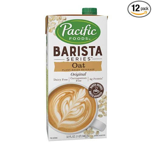 Pacific Natural Foods Oat Milk Barista Series