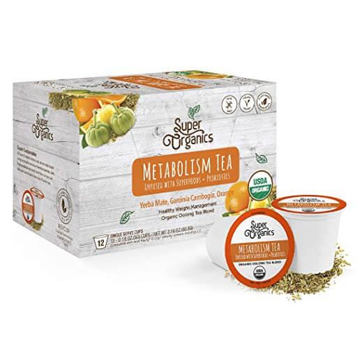 Super Organics Metabolism Oolong Tea Pods