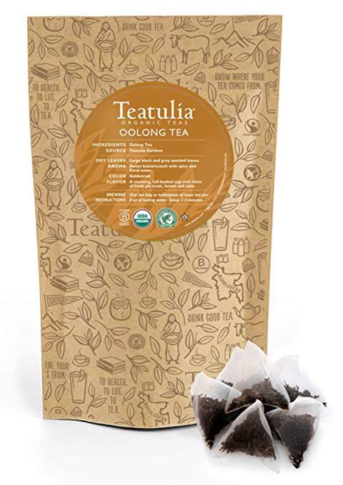 Teatulia Organic Oolong Tea