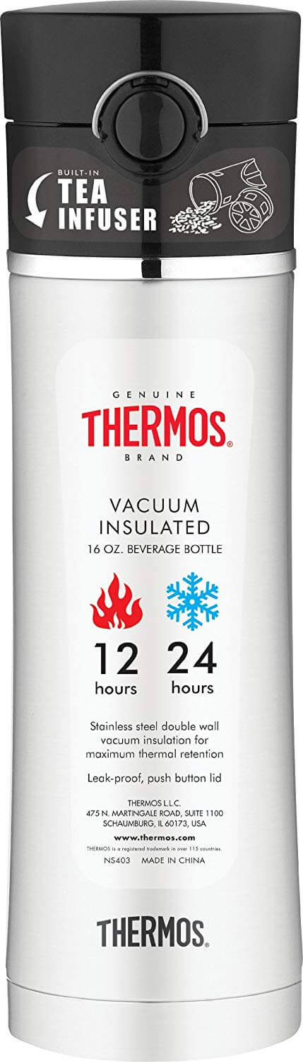 Thermos 16-Ounce Drink Bottle with Tea Infuser