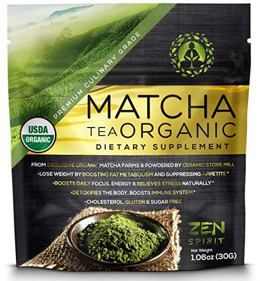 Zen Spirit Matcha Green Tea Powder Organic