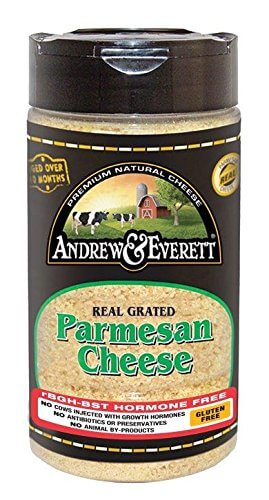 Andrew & Everett Hormone Free Grated Parmesan Cheese