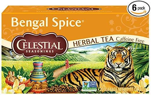 Celestial Seasonings Bengal Spice Herbal Tea