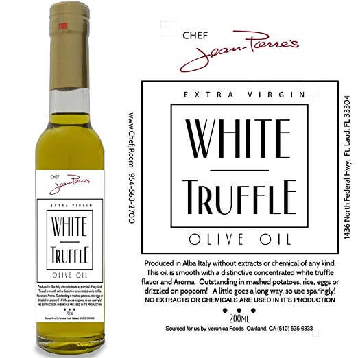Chef Jean Pierre's White Truffle Oil