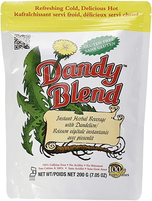 Dandy Blend Instant Herbal Beverage with Dandelion