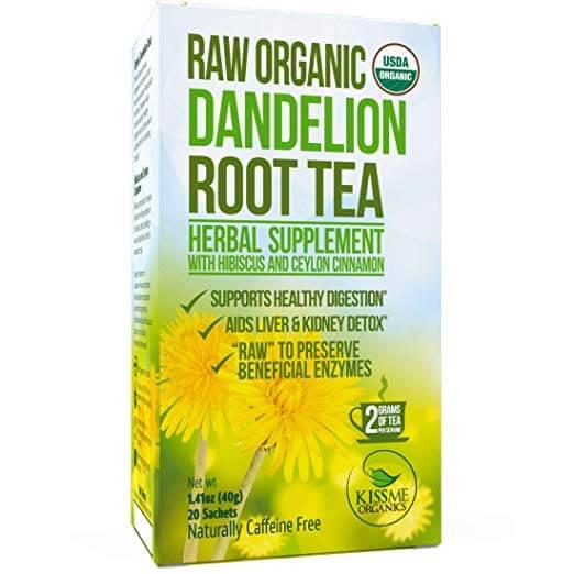Kiss Me Organics Dandelion Root Tea Detox Tea