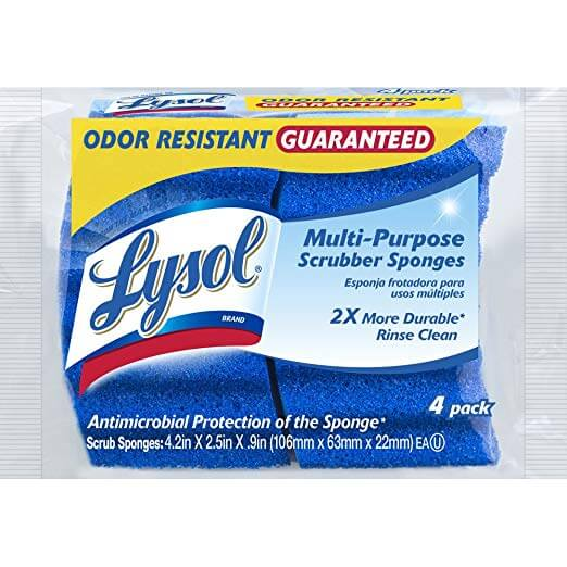 Lysol Multi-Purpose Scrub Sponge