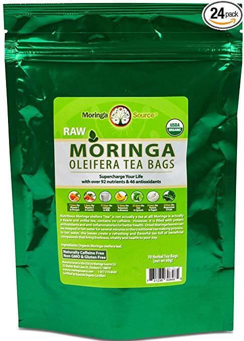 Moringa Source Herbal Tea Bags
