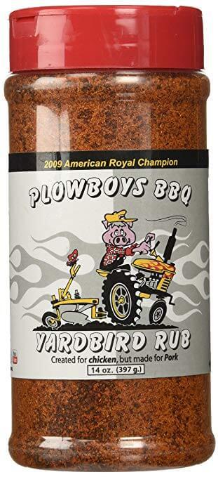 Plowboys Yardbird Rub