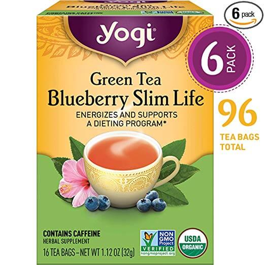 Yogi Tea Green Tea Blueberry Slim Life