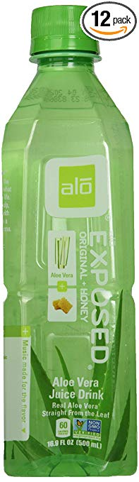 ALO Exposed Aloe Vera Juice Drink with Honey