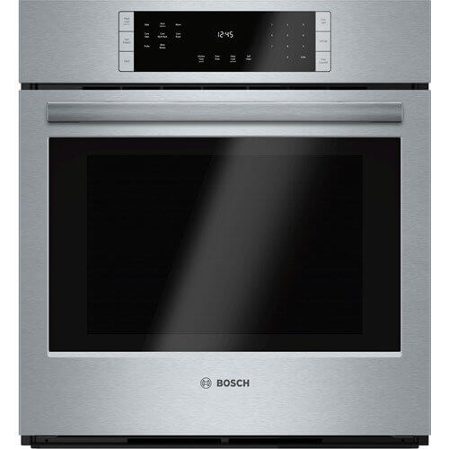 Bosch HBN8451UC 800 27 Stainless Steel Electric Single Wall Oven - Convection