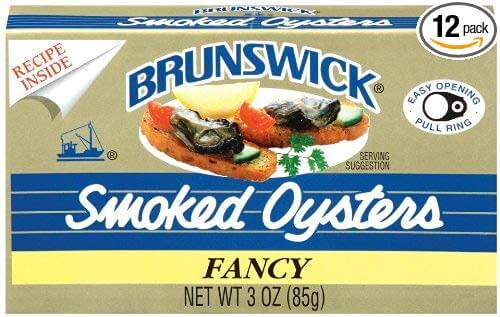 Brunswick Smoked Oysters