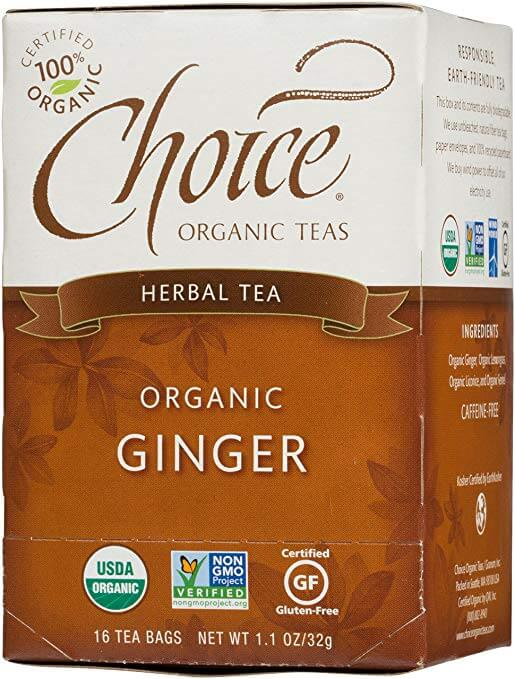 Choice Organic Teas Organic Ginger