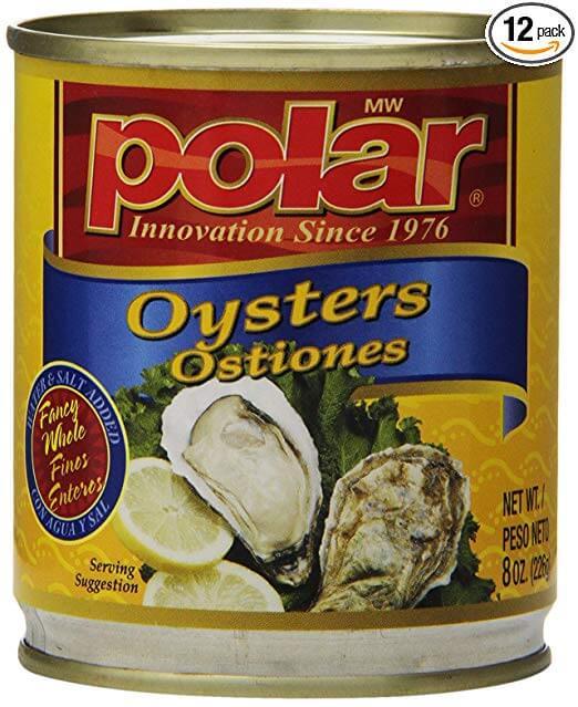 MW Polar Boiled Oysters