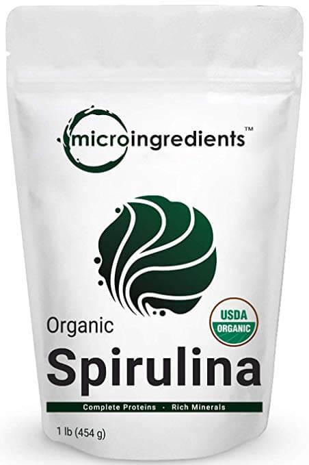 Micro Ingredients Pure Organic Spirulina Powder