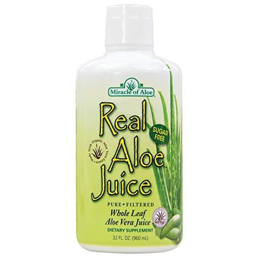 Miracle of Aloe Real Aloe Juice