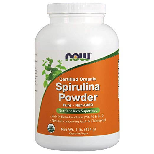 NOW Certified Organic Spirulina Powder